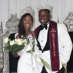 (L-R) 81st Miss SCSU Teonna Breland and 5th Mr. SCSU Damien Smith
